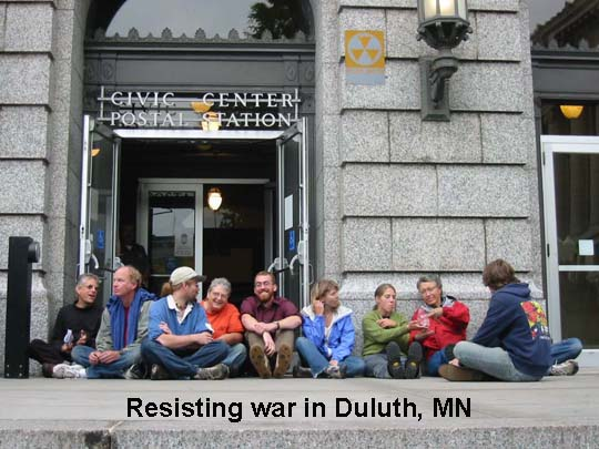Nukewatch - Resisting War in Duluth MN